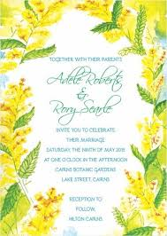 15 best wedding invitations by couture card company images on Wedding Invitations Cairns Qld wattle wedding invitation front Cairns Australian Tourism