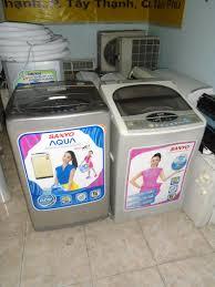 2 cái máy giặt cửa trên Sanyo- đồng giá - chodocu.com