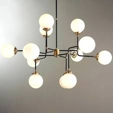 mid century chandelier parlor modern lighting for with prepare 4