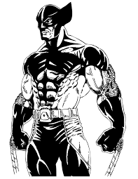 Small Picture Free Printable Wolverine Coloring Pages H M Coloring Pages