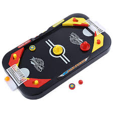 2 in 1 mini ice hockey table soccer desktop battle tournament game for kids families interactive toy cod