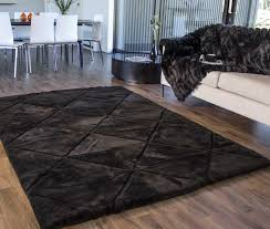 dazzling gray and black rug cievi home