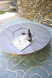 Diy Coffee Table Wire Spool Diy Coffee Table 2 Bees In A Pod