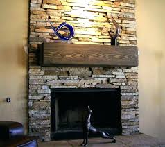creative stack stone veneer image of fireplace surround stacked installation cost outdoor