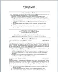 This Is Restaurant Resume Example Sample Resume For Restaurant Jobs ...