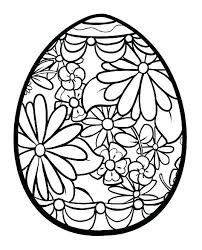 Valuable Easter Eggs Coloring Page Pages Free For Kids Adult Big 4