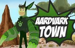 wild kratts aardvark town