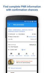 Live Train Chart Live Train Status Pnr Status Indian Rail Info 3 4 2 Apk