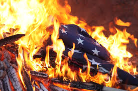 why burning the american flag should be illegal cover image credit emaze com