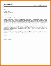 Industrial Maintenance Mechanic Cover Letter Examples Maintenance