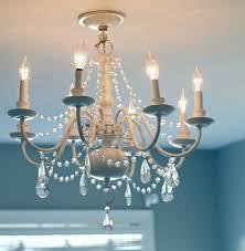 diy crystal chandelier centerpiece