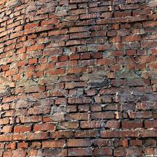 old brick wall material 3d model