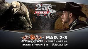 Pbr Bfts Professional Bull Riders Badboy Mowdown 2018