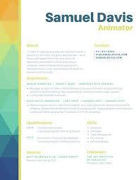 Colorful Resume Templates Wonderful 24 Creative And Beautiful Resume Templates WiseStep
