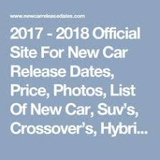 autocar new car release datesNew Cars for 2017 Whats Coming This Year  Autocar  Cars