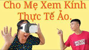 NCT - Thử Cho Mẹ Xem Kính Thực Tế Ảo (Try Mom Watching Horror Movie With  Virtual Reality Glasses). - YouTube