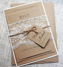 rustic meets elegance, these handmade invitations are a beautiful Wedding Invitation Kits Coral items similar to rustic wedding invitation, lace wedding invitation, rustic lace wedding invitation, shabby chic wedding invitation suit on etsy wedding invitation kits can insert picture