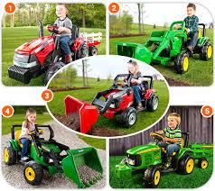 peg perego ride on john deere tractor kids