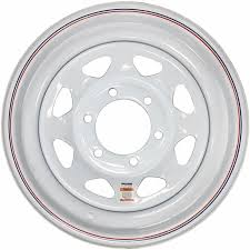 Chevy Truck Wheel Bolt Pattern Stunning 48'' White Spoke Trailer Wheel 48 On 4848 Chevy Truck Bolt Pattern 48