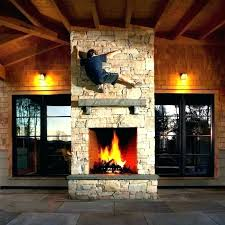 double sided fireplace indoor outdoor two 2 gas dble fi