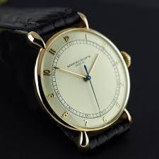 antique watches the uk s premier antiques portal online galleries vacheron constantin rose gold wristwatch 1945