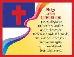 Pledge To The Christian Flag Chart