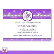 Example Invitation Card Birthday Party Lindawallace Co