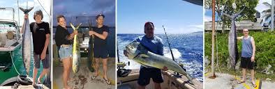 Rarotonga Fishing Season Fish Species Chart Fishing Records