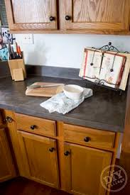 faux concrete countertop makeover this is beautiful these are my kitchen cabinets love