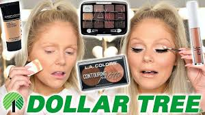 full face of dollar tree makeup dollar makeup challenge