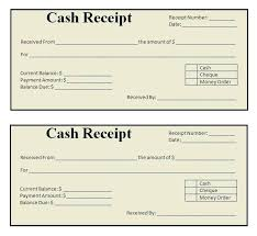 Sample Cash Receipt Form Excellent Customer Receipt Template Samples