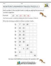 prepossessing math brain teasers worksheets 4th grade for your