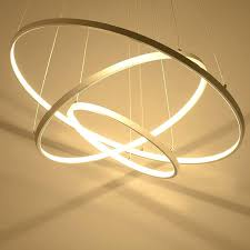 circle chandelier light modern design led chandelier light fixture circle