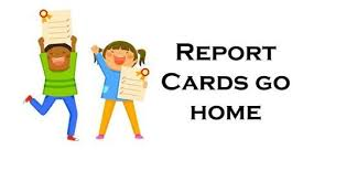 Image result for report cards come home image