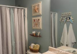 Beach Style Bathroom Decor Beach Themed Bathroom Shower Curtains Laptoptabletsus