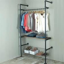 best clothes rack pipe clothes rack imposing ideas pipe closet best clothes rack on intended for best clothes rack