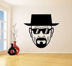 Us 5 98 25 Off Vinyl Wall Decal Breaking Bad Man Wall Stickers For Living Room Bedroom Decoration Murals Vinyl Wall Art K21 In Wall Stickers From
