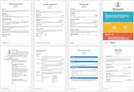 Resume.com templates
