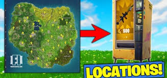 Vending Machine Finder Amazing ALL VENDING MACHINE LOCATIONS In Fortnite Battle Royale FunPlay