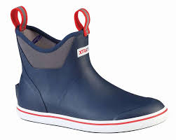 Xtratuf 22733 Ankle Deck Boot Navy Size 11 Was 84 99