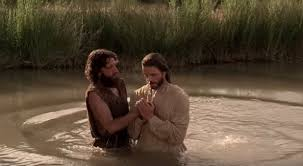 Image result for images of jesus and john the baptist