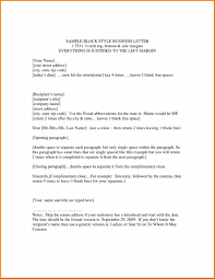 Design Business Formal Letter Format Template Mla Email Sample