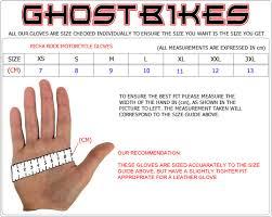 Richa Glove Size Guide