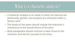 notes on character analysis ppt video online what is a character analysis