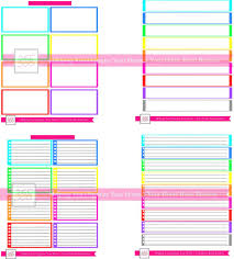 colors of the rainbow list. color coded to do lists | organize 365 colors of the rainbow list d