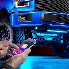 Led Lights For Under Truck Lumen App Controlled Rgb Led Underbody Kit