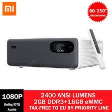 Original <b>Xiaomi Mijia Smart Laser</b> Projector 2400 ANSI Lumens ...