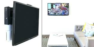 gallery of wall mounting a tv and hiding cable box astonishing where to put for mounted tv ideal 8