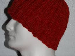 Easy Knit Hat Pattern Straight Needles New Free Knitting Pattern For A Ribbed Hat Knit Flat