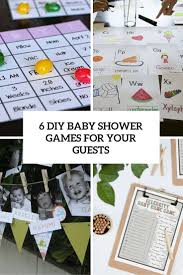 6 Simple DIY Baby Shower Games For Your Guests - Shelterness